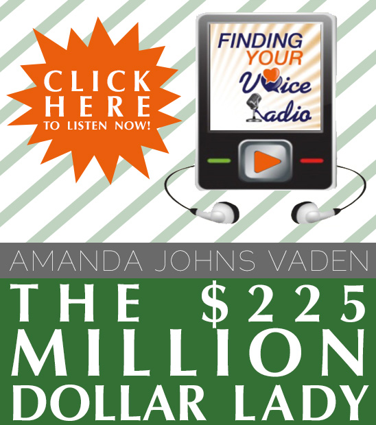 Amanda Johns Vaden on Finding Your Voice Radio - Southwestern Consulting - Unspoken