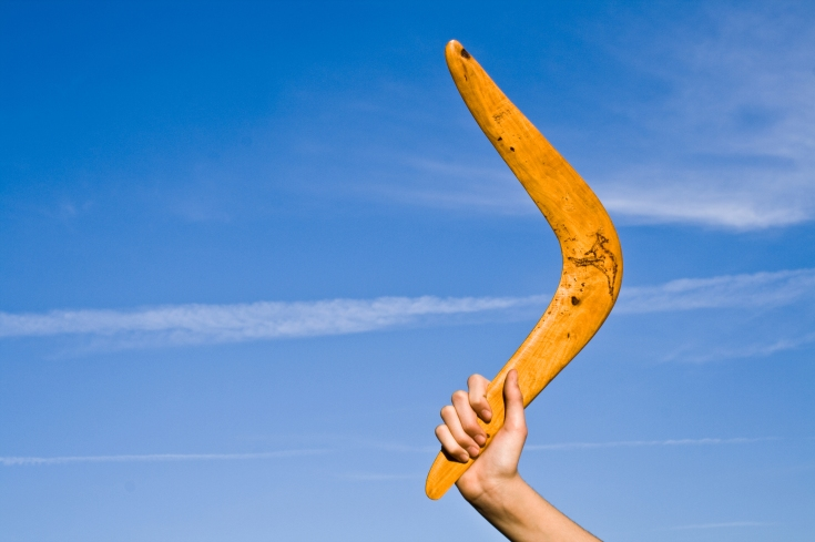 Boomerang Sales Technique
